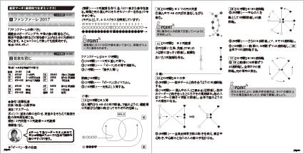 1~2・ファンファーレ 2017 〜花束を君に【マスゲーム】(年長〜小高学年)